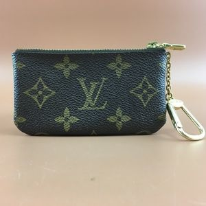 Preowned Louis Vuitton Monogram Key Cles Wallet